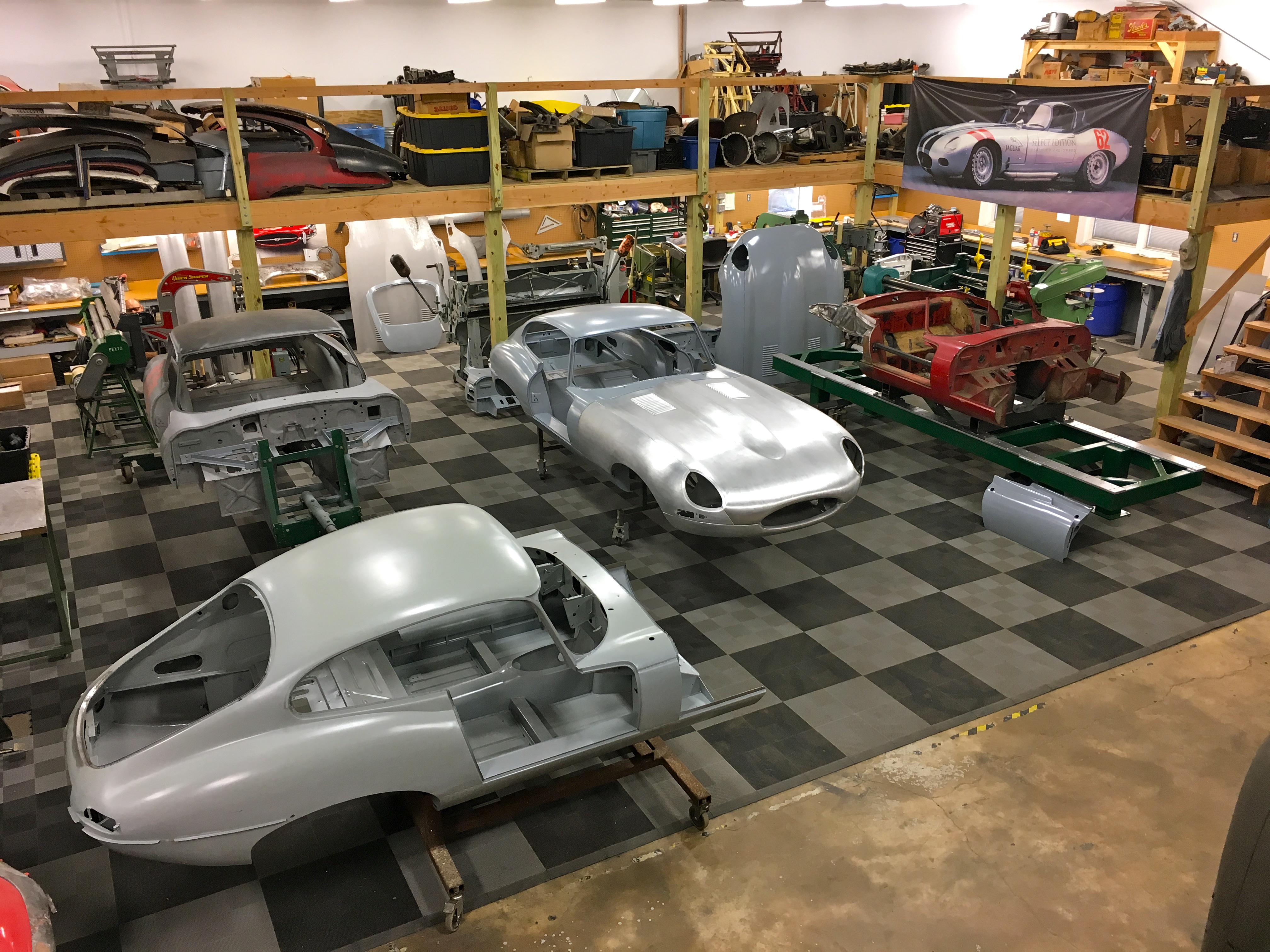 Jaguar e type restoration