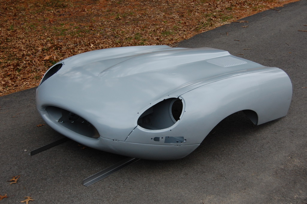 This is an example of a restored bonnet from Monocoque metalworks that will be included with your new body shell...