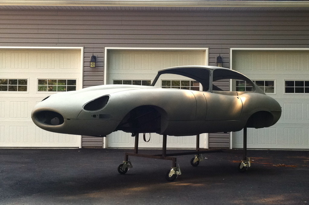 "Imagine purchasing an E-Type project for restoration, and then INSTANTLY fast-forwarding to this point where the metalwork is completed! Well, this is your chance! We are essentially offering ""Barn Fresh"" E-Type projects - but with FACTORY FRESH body shells and bonnets!"