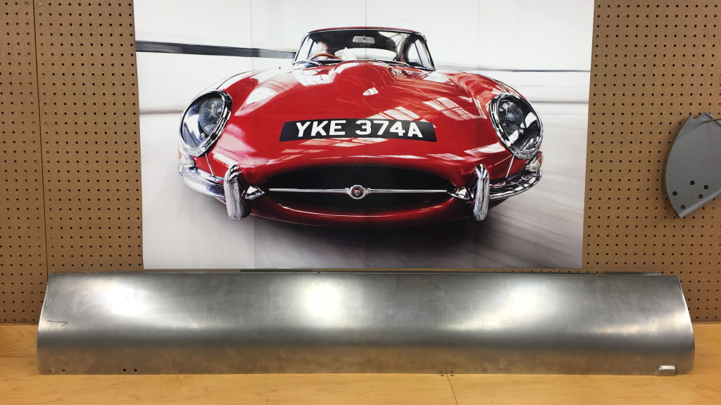 This is a Monocoque Metalworks LH Outer Sill for all 6-cylinder E-Type Coupes (FHC) and Roadsters OTS. It is absolutely 100% perfect in every way - it is EXACTLY the same as the factory produced them - in EVERY dimension!